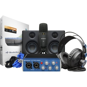 PreSonus AudioBox USB 96 Studio Ultimate 레코딩 패키지